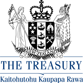 The Treasury logo.